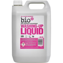 Bio D Washing-up Liquid with Grapefruit - 5L