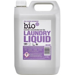 Bio D Concentrated Non-Bio Laundry Liquid - Lavender - 5L - 125 Washes