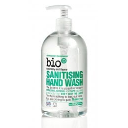 Bio D Sanitising Hand Wash Rosemary & Thyme - 500ml