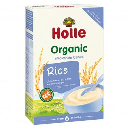 Holle Organic Wholegrain Rice Cereal - 250g