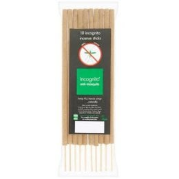 Incognito Anti-Mosquito Incense Sticks - Pack of 10