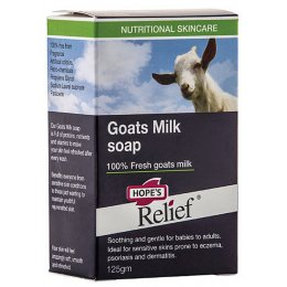 Hopes Relief Goats Milk Soap - 125g