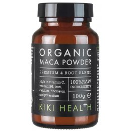 Kiki Health Organic 4 Root Premium Maca Powder - 100g