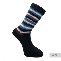Komodo Organic Cotton Striped Socks