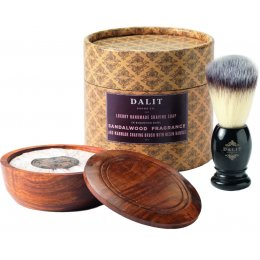 Dalit Mens Shaving Brush & Soap Gift Set