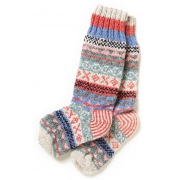 Finisterre Knitted Socks - Oatmeal