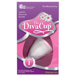 The DivaCup - Menstrual Cup