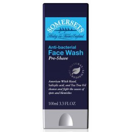 Somersets Anti-Bacterial Balancing Pre-Shave Facial Wash - 100ml