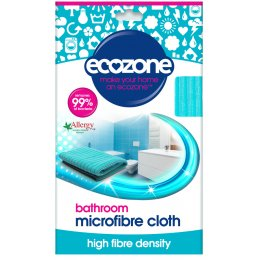 Ecozone Microfibre Bathroom Cloth - 80g