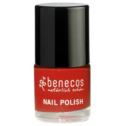 Benecos Nail Polish - Vintage Red - 9ml