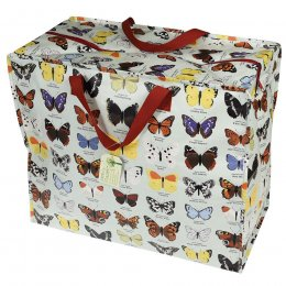 Recycled Jumbo Storage Bag Butterfly