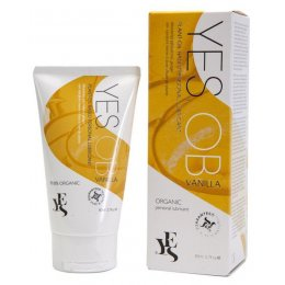 Yes Intimate Oil Based Lubricant with Madagascan Vanilla - 80ml