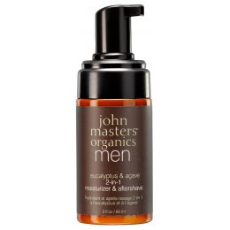 John Masters Organics Eucalyptus & Agave 2-in-1 Moisturizer & Aftershave - 89ml