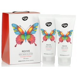 Green People Organic Body Care Butterfly Conservation Gift Set - Revive - 200ml