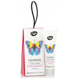 Green People Organic Butterfly Conservation Nourish Hand Cream - Ho Wood & Red Mandarin - 30ml