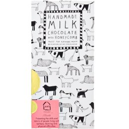 Arthouse Meath Dogs Honeycomb Milk Chocolate - 100g