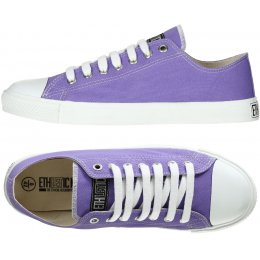 Ethletic Fairtrade Trainers - Purple Rain