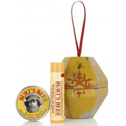 Burts Bees Classic Christmas Bauble Beeswax Gift Set
