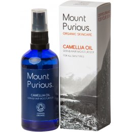 Mount Purious Camellia Oil Skin & Hair Moisturiser - 100ml