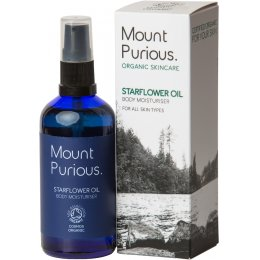 Mount Purious Starflower Oil Body Moisturiser - 100ml