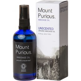 Mount Purious Unscented Massage Oil - 100ml