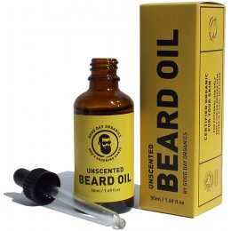 Good Day Organics Mens Unscented Beard Oil - 50ml