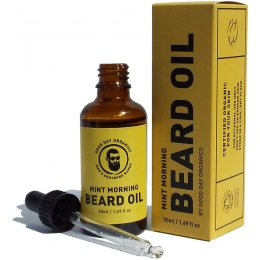 Good Day Organics Mens Mint Morning Beard Oil - 50ml
