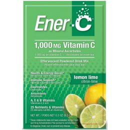 Ener-C Powdered Drink Mix - Lemon & Lime - 30 Sachets