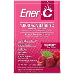 Ener-C Powdered Drink Mix - Raspberry - 30 Sachets