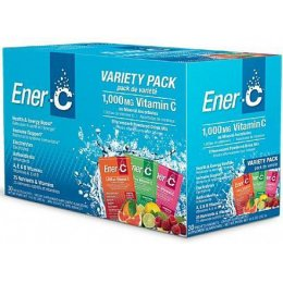 Ener-C Powdered Drink Mix - Variety Pack - 30 Sachets
