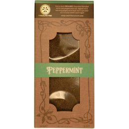 Chocolate Tree Organic Couverture Peppermint Extra Dark Chocolate Bar - 100g