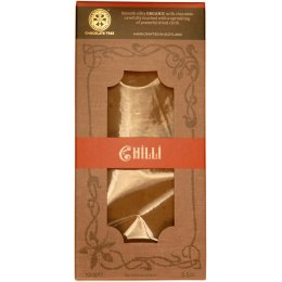 Chocolate Tree Organic Couverture Chilli Milk Chocolate Bar - 100g
