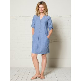 Nomads Jacquard Shirt Dress - Denim