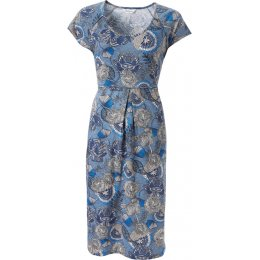 Nomads Short Sleeve Jersey Dress - Denim