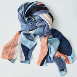 Thought Voyage Pintura Scarf