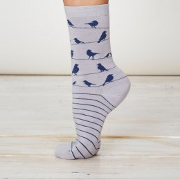 Thought Birdie Bamboo Socks