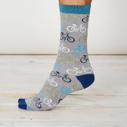 Thought Cycler Bamboo Socks