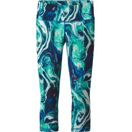 Patagonia Rivermouth Centered Crop Leggings - Galah Green