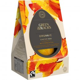 Green & Blacks Butterscotch Milk Chocolate Easter Egg - 165g