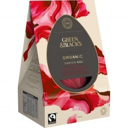 Green & Blacks 70 percent  Dark Chocolate Easter Egg - 165g