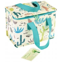 Recycled Lunch Bag - Desert In Bloom