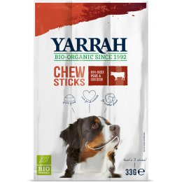 Yarrah Organic Chewsticks For Dogs - Pack of 3 - 33g