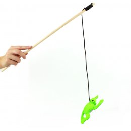 Beco Catnip Wand Toy - Frog