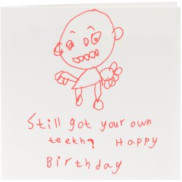 ARTHOUSE Unlimited Charity Still Got Your Own Teeth? Birthday Card