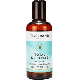 Tisserand Total De-Stress Bath Oil - 100ml
