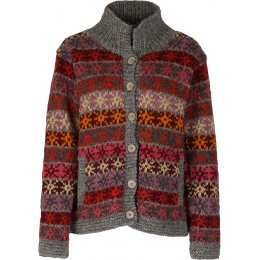 Womens Tintagel Button Wool Jacket - Warm