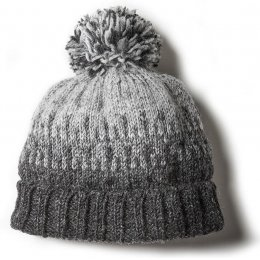 Mens Heidelberg Bobble Beanie - Grey