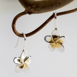 Mosami Frangipani Drop Earrings