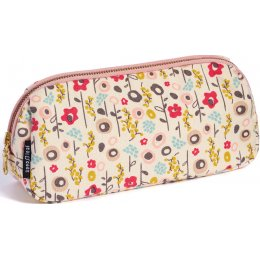 Keep Leaf Organic Cotton Make-Up Bag - Bloom