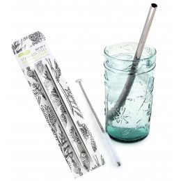 U-Konserve Stainless Steel Straws - Set of 2